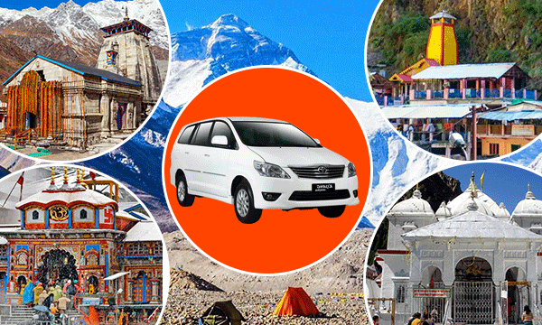 Reliable taxi rental for Uttarakhand Chardham Yatra